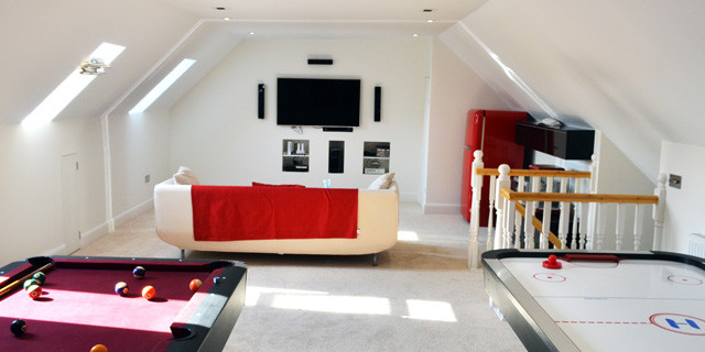 Spacious loft conversion