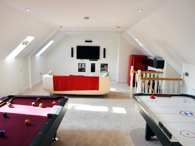 Spacious loft conversion